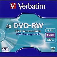 Verbatim 43284 DVD regrabable - DVD+RW vírgenes (DVD-RW)