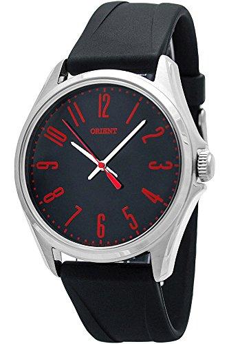 Orient Men's Analogue Quartz Watch with Rubber Strap FQC0S00CB0