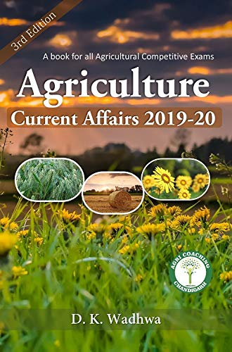 Agriculture Current Affairs 2019-20