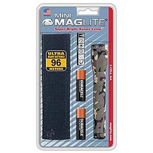 Maglite Holster pack Mini R6 avec étui nylon mixte adulte Camouflage 14.5 cm