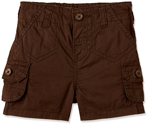 Donuts Baby Boys' Shorts (271316939_BROWN_12M_OS-10)