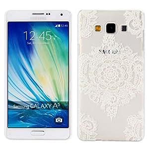 Samsung Galaxy A5 Coque UHIPPO® motif floral Matte polycabonate transparent en plastique dur Coque Housse de protection pour Samsung Galaxy A5