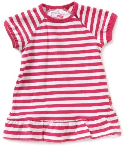 NAME IT Unisex - Baby Kleid 13060332, Gr. 74, Pink (FUSCHIA)