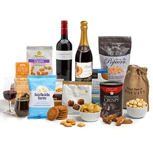 Hay Hampers Festive Family Fun Luxury Hamper Box to share - FREE UK Delivery