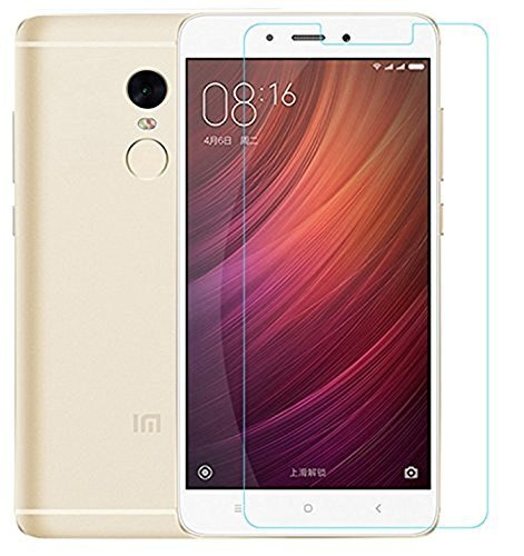 Xiaomi Mi Redmi Note 4 Tempered Glass Screen Protector Screen Fit Bubble Free Anti-Scratch Crystal Clarity 2.5D Curved Screen Guard  available at amazon for Rs.149