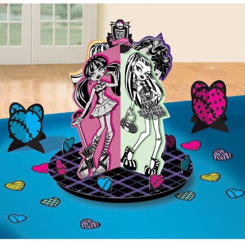 Monster High table Decorating Kit - Tischdekoration & Konfetti - Geburtstag / Party Deko - aus (Monster High Kit)