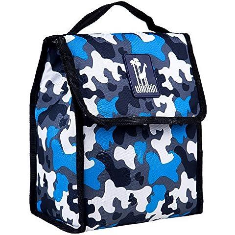 Wildkin Bambini Blu Mimetico Pranzo Al Sacco, Multi-colore