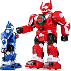 Magicwand Remote Controlled Dancing & Order Taking Robot with Darts (Red)