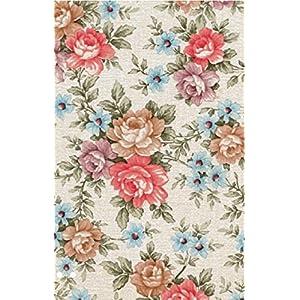 i.stHOME Klebefolie Möbelfolie Rosen Romantic - Blumen Muster - Vintage Dekofolie für Möbel 45x200 cm - Selbstklebende Folie