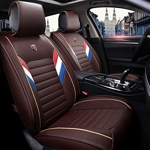 Preisvergleich Produktbild Autositzbezug Set Leder, Autositzbezug, Vorder- und Rücksitze, für 5 Sitze