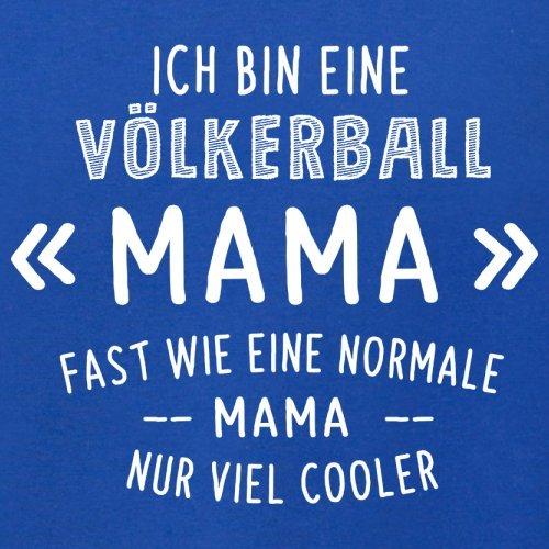 Ich bin eine Völkerball Mama - Herren T-Shirt - 13 Farben Royalblau