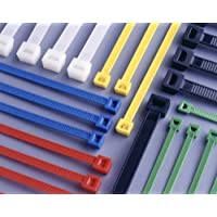 100mm x 2.5mm Blue Cable Ties (pack of 10) by Newsome