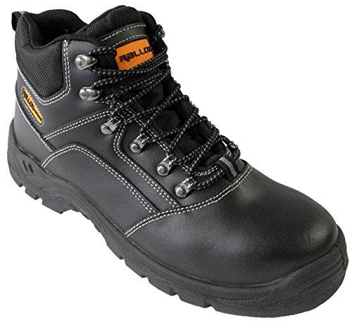 Arbeitsschuhe Sicherheitsschuhe Schuhe schwarz echt Leder LC521 S3 (38 39 40 41 42 43 44 45 46 47) Gr. 42
