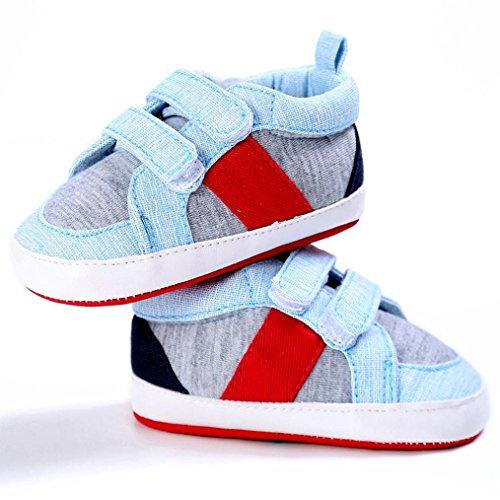Baby Schuhe, Moonuy Soft Sohle Schuh Turnschuhe,Abstand! Hellblau
