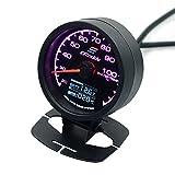 Tutoy G1 / 4 Bunte Led-Licht Wasserkühlung Temperatur Thermometer Für Comuputer Motorrad Mod