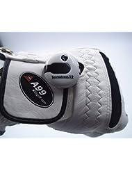 A99 Golf One Touch Reset -Contador de puntuación para golf (lo suficientemente pequeño como para acoplar al guante), blanco