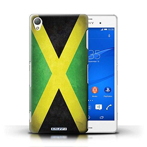 Kobalt® Imprimé Etui / Coque pour Sony Xperia Z3 / Finlande/finlandais conception / Série Drapeau Jamaïque/jamaïcain