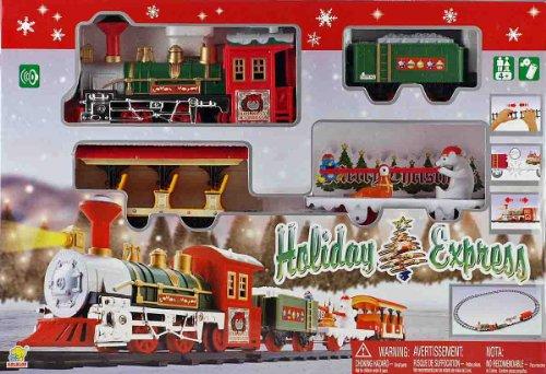 Goldlox Coffret de jouets Petit train express de Noël