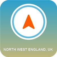 North West England, UK GPS