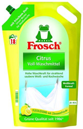 Frosch Citrus Waschmittel, 1,8 l -