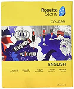 Rosetta Stone English (British) Level 1 (PC/Mac)