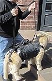 Tiffys-Tasche Größe 6, 59cm - 65cm Brustumfang. Hunde Gehhilfe / Tragehilfe - das Original - 1000fach bewährt - Made in Germany. Hoher Tragekomfort durch Polstermaterialien und gleichzeitig perfekter Halt und Sicherheit durch das patentierte Gurtsystem.