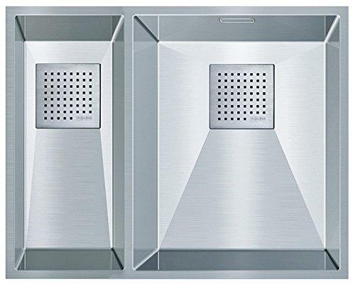 Franke Peak PKX 160–34–18in acciaio inox lavandino da cucina lavello da incasso Lavello 60US