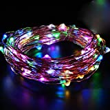 Taylorean Beauty LED Light String Fairy Light Battery Operated Multicolor Xmas Lights Party Wedding Celebration Lamp