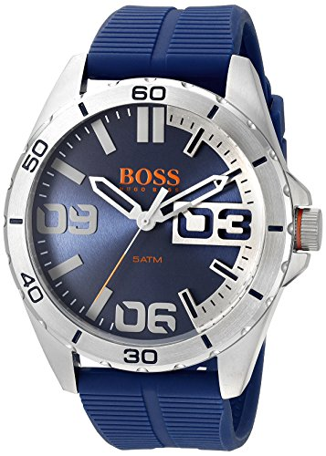 BOSS Orange Men's 1513286 Berlin Analog Display Quartz Blue Watch