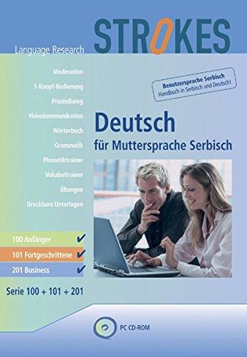 Strokes Deutsch für Muttersprache Serbisch / Strokes Deutsch für Muttersprache Serbisch: 100 + 101...