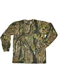 HSF - Ropa de Camuflaje: Sudadera / Camiseta / Camiseta de Manga Larga. Todas las Tallas. Ropa para Caza y Pesca - M, Camiseta Manga Larga