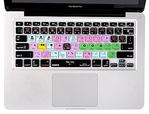 Final Cut Pro X Housse pour Clavier en silicone peau protecteur pour MacBook Pro 131543,2cm (US Clavier européen/ISO)