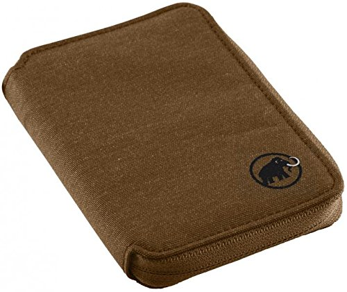 Mammut Zip Wallet Mélange Geldbörse, Timber, one Size