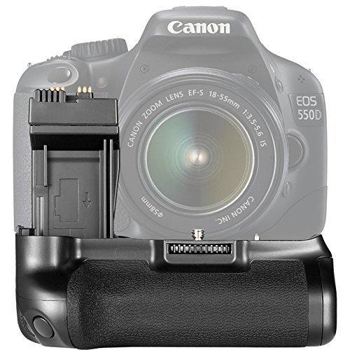 quikprof BG-E8 Battery Grip Holder for Canon Eos 550D 600D 650D 700D Camera LP-E8