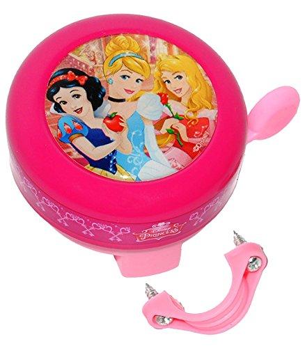 Fahrradklingel Prinzessin - Klingel für das Fahrrad Princess Prinzessin Belle Kinder Mädchen 2 Disney Prinzessinnen Lenkerklingel (Kinder Princess Für Roller)