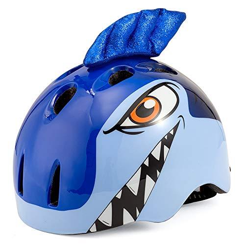 Ldd-tk Kind Fahrradhelm Cartoon schutzausrüstung Kinder Multi-Sport Sicherheit Skateboard Radfahren Skate Roller Mädchen Jungen Helme (3-10 Alter) (Farbe : A, größe : S)