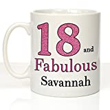 18 and Fabulous: Personalised 18th Birthday Mug, 18th - Best Reviews Guide