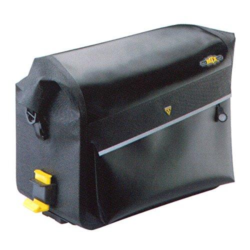 Topeak Gepäckträgertasche MTX Trunk Dry Bag, Black, 38 x 24 x 26 cm, 12 Liter, TT9825B