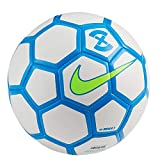 Nike Menor X Ballon de Football Futsal (SC3039-103), White/Blue Hero/Volt, Pro