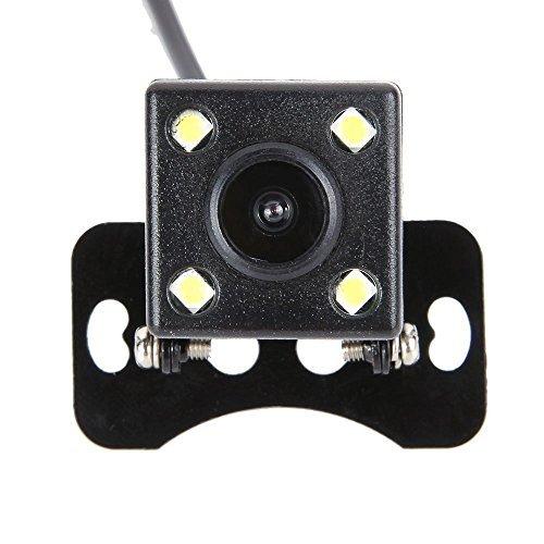SYIN 4 LED-Auto-CCD-HD-hintere Ansicht-Kamera 170-Grad-Weitwinkel-Unterstützungskamera-wasserdichte u. Nachtsichtfahrzeug-Rearview-Parken-Kamera (4 LED) Ccd-auto-kamera