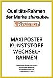 Empire Merchandising GmbH, 674999, Cornici di Ricambio in plastica per Poster Grandi, Profilo 15 mm, 62 x 93 cm, con Vetro Acrilico, Colore: Giallo