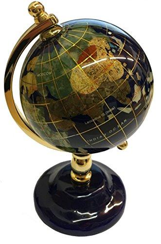 Globus aus Lapislazuli (Edelstein-globen)