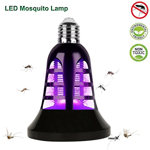 Bug Zapper Light Bulb-2 in 1 luci a LED e lampada anti-zanzara, assassino di insetti elettronici, zapper zanzara, moschicida (E27)