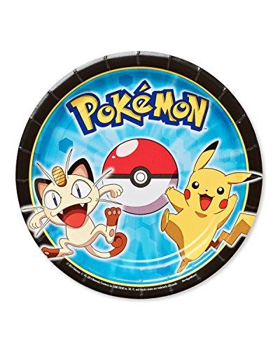 Amscan International Plaque Papier 54184418cm Pokémon