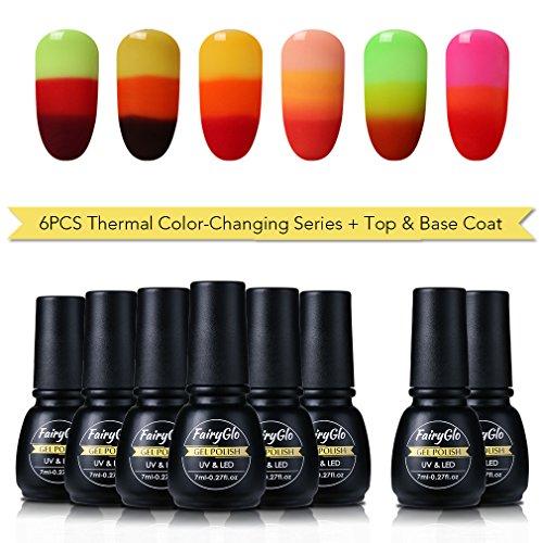 Descargar Pdf Gel Nail Polish 6pcs Thermal Colour Changing Varnish