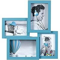 Ceanothe - 104078 - Peps Cadre Photo - Multi-Vues - 10 x 15/9 x 13 cm - Bleu