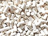 15,25,50 o 75 pieza corcho 19mm (⌀ = 17-21.5mm / longitud = 33 mm) tapones de PE de corcho para botellas (15 Pieza)
