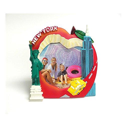 Rockin Gear Bilderrahmen Big Apple New York Souvenir und Geschenk-Passt 10,2x 15,2cm Foto-Collectible NYC Souvenir und Geschenk