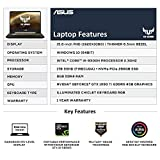 ASUS TUF FX505 Intel Core i5 8th Gen 15.6-inch FHD Gaming Laptop (8GB/1TB Hybrid HDD (FireCuda) + 256GB SSD/Windows 10/GTX 1050 Ti 4GB Graphics/Gun Metal/2.20 Kg), FX505GE-BQ025T