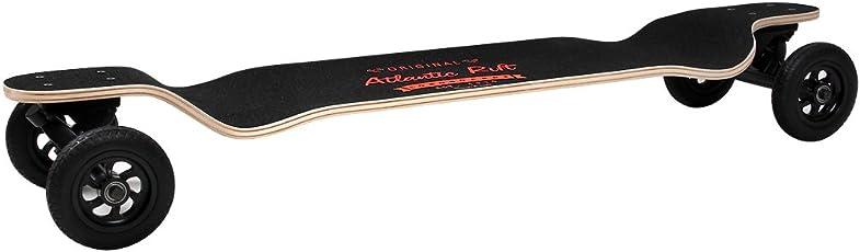 Longboard Skateboard Drop-Down Komplettboard Skater ABEC9 Funboard Ahornholz -【Motivauswahl】